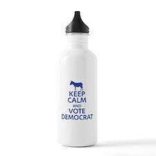 Keep Calm Republican Water Bottle