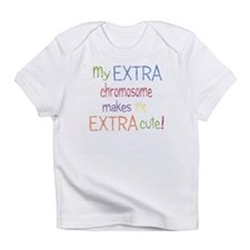 Cute Down syndrome Infant T-Shirt