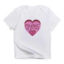 Music is in My Heart Infant T-Shirt