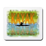Kayak Reflections Mousepad
