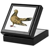 Flying Oriental Roller Almond Keepsake Box