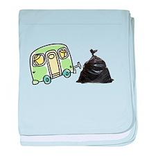 Trailer Trash baby blanket