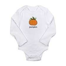 pumpkin Long Sleeve Infant Bodysuit