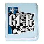 GTR Racing baby blanket