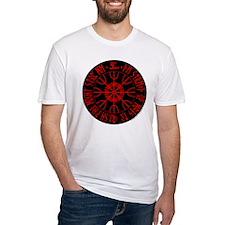 Aegishjalmur Fitted T-Shirt
