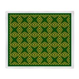 Eclectic Flower 120 Throw Blanket