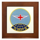 73d Airlift Squadron Framed Tile