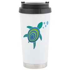 Ocean Doctor Sea Turtle Ceramic Travel Mug