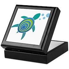 Ocean Doctor Sea Turtle Keepsake Box