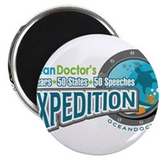 50-States Expedition Magnet