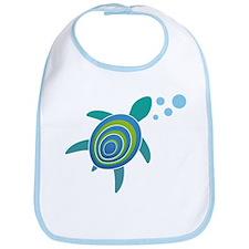 Ocean Doctor Sea Turtle Logo Bib