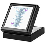 Daughter Expecting Baby Keepsake Box