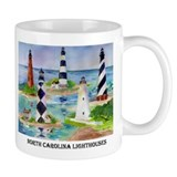 N.C. Light Houses Mug