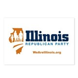 Illinois GOP Postcards (Package of 8)