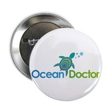 "Ocean Doctor Logo 2.25"" Button (10 pack)"