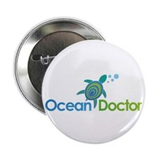 "Ocean Doctor Logo 2.25"" Button"