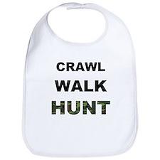Crawl Walk Hunt Bib