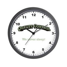 We never sleep! Wall Clock
