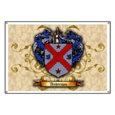 Anderson Family Coat of Arms Banner