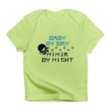 Blue Baby Ninja Infant T-Shirt