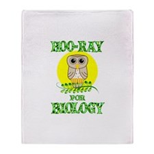 Biology Throw Blanket