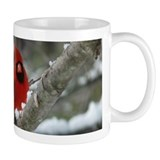 Cardinal Winter Mug