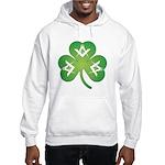 Irish Mason Clover Hooded Sweatshirt