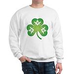 Irish Mason Clover Sweatshirt