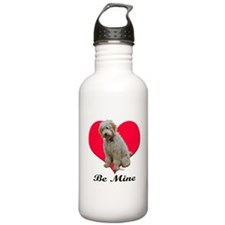 A Golden Doodly Valentine Water Bottle