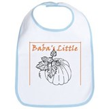 Baba's Little Pumpkin Bib