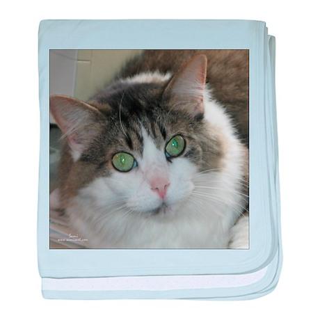 Darma: DLH Cat baby blanket