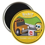 """Think Safety"" 2.25"" Magnet (10 pac"