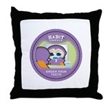 """Brush Your Teeth"" Throw Pillow"