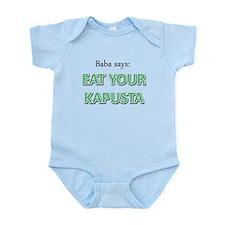 Eat Your Kapusta Infant Bodysuit