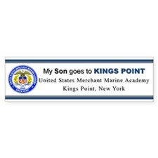 My SON Goes to KP Car Sticker