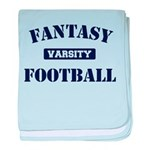 Varsity Fantasy Football baby blanket
