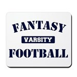 Varsity Fantasy Football Mousepad