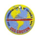 USS Groton SSN 694 Ornament (Round)