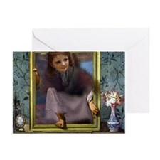 Through The Looking Glass Greeting Cards (Pk of 10