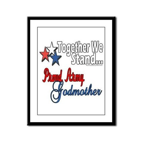 Army Godmother Framed Panel Print