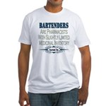 Bartenders Fitted T-Shirt