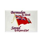 Bermudan by birth Rectangle Magnet (100 pack)