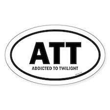 Addicted to Twilight Euro Decal