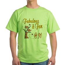 Floral 91st T-Shirt