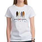 Nothin' Butt Whippets Women's T-Shirt