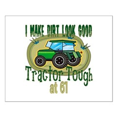 Tractor Tough 61st Small Poster