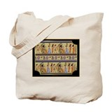 Egyptian Hieroglyphics Tote Bag