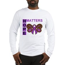 Fibromyalgia Hope Matters Long Sleeve T-Shirt