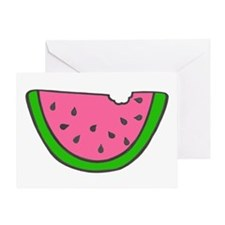 'Colorful Watermelon' Greeting Card