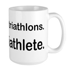 I Do A Triathlete! Mug